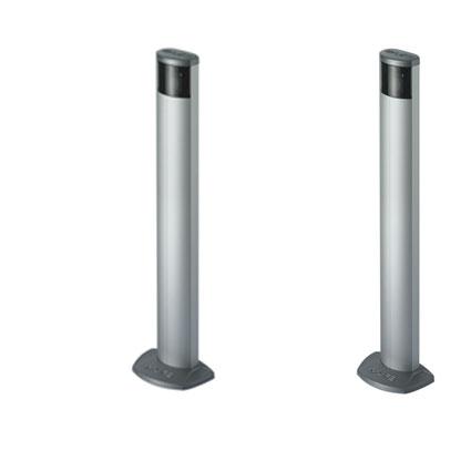 Life REX Lichtschrankensäulen 2 Aluminium Säulen mit Lichtschranke RE50F * 1