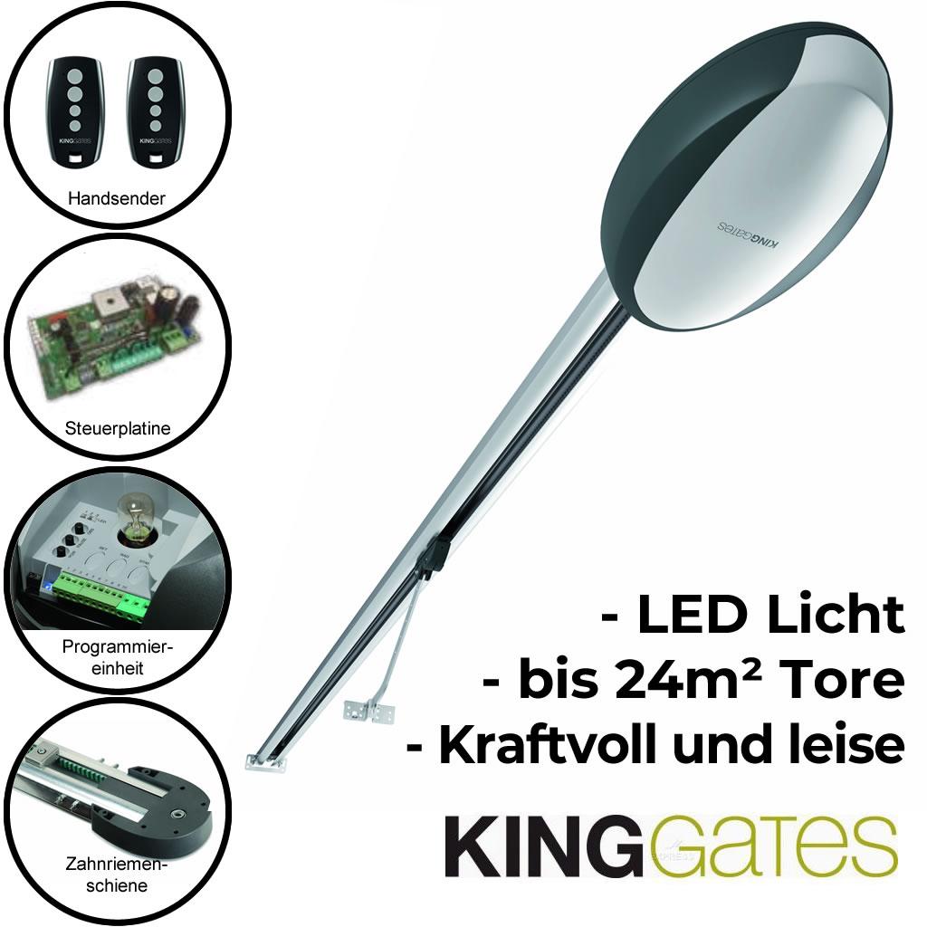 Kingates ROLLS 1200 Garagentorantrieb für Schwing- und Sektionaltore