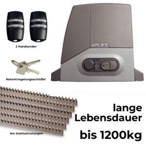 Life Acer 12R DL 230V 1200 kg Schiebetorantrieb Set