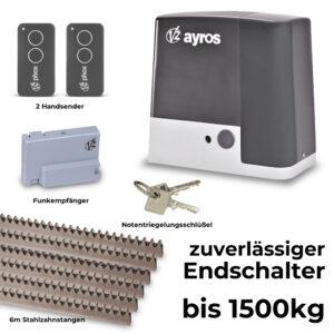 V2 Ayros 1500D-I bis 1500 kg Schiebetorantrieb Set