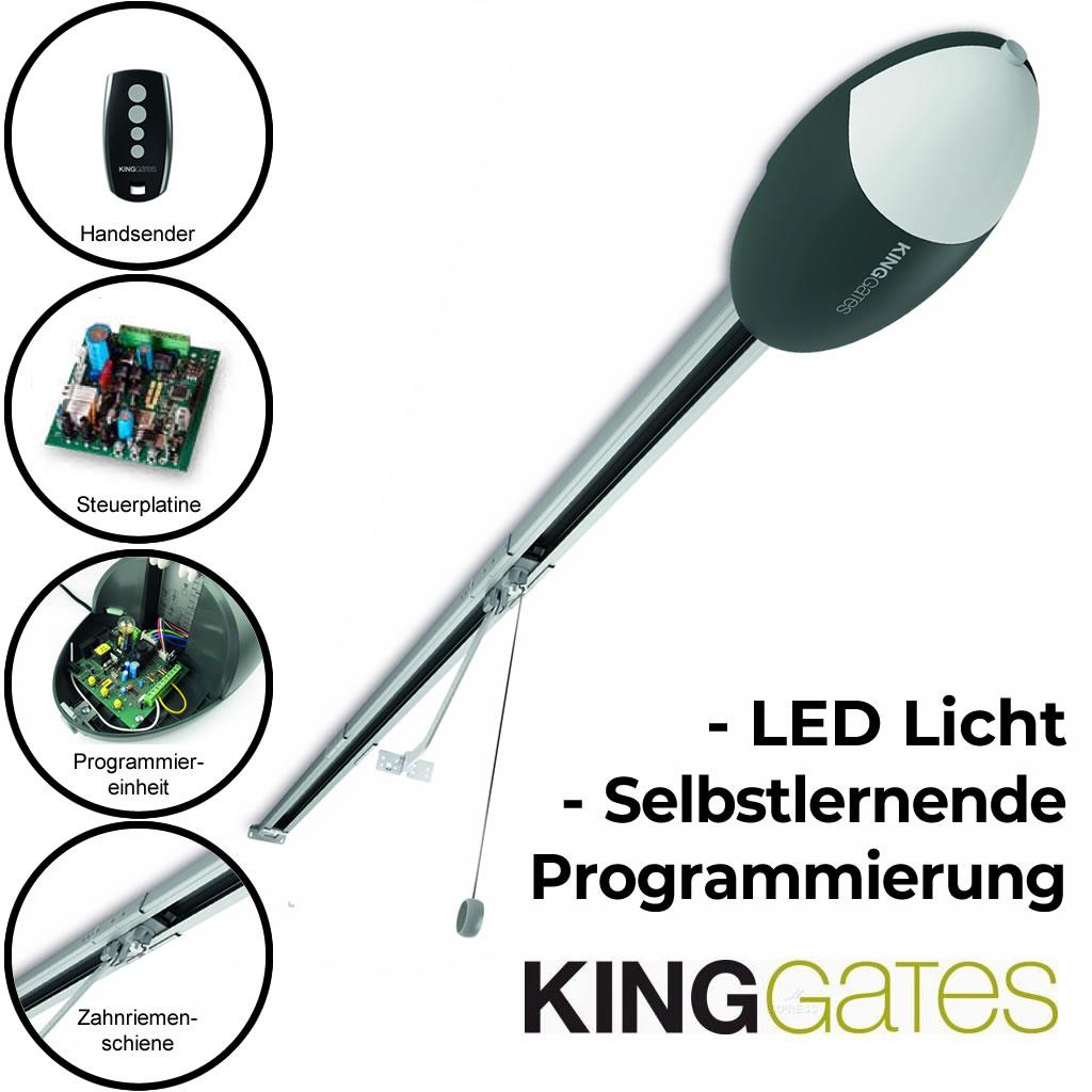 Kingates ELEVO 620 Garagentorantrieb für Schwing- und Sektionaltore