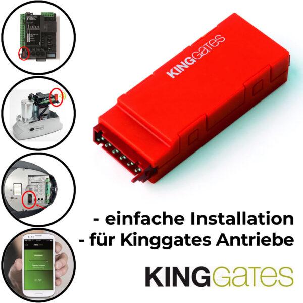 New Specialist Programmier-App für Kinggates Torantriebe 1