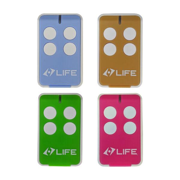 Life Maxi 4-Kanal Handsender Tor Fernbedienung multicolor 1